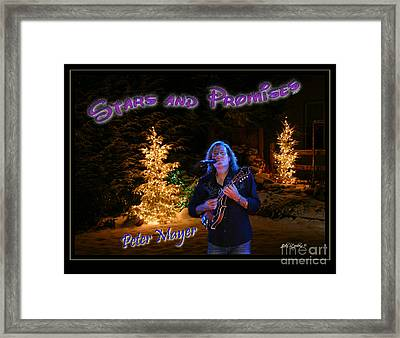 Peter Mayer Stars And Promises Christmas Tour Framed Print by John Stephens
