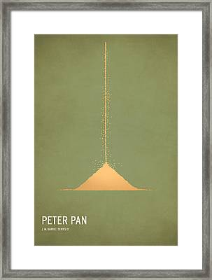 Peter Pan Framed Print by Christian Jackson