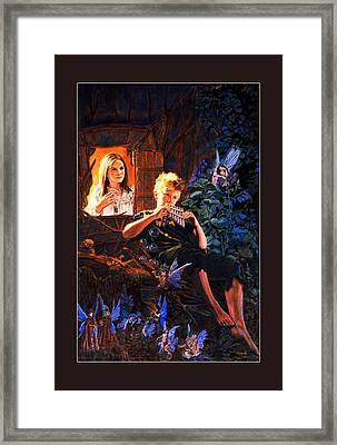 Peter Pan Framed Print by Patrick Whelan