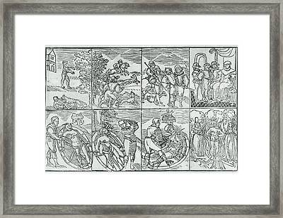 Peter Stubbe Framed Print by British Library