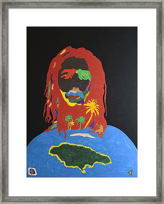 Peter Tosh Bush Doctor Framed Print by Stormm Bradshaw