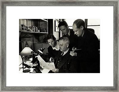 Peter Zhukovsky Framed Print by American Philosophical Society