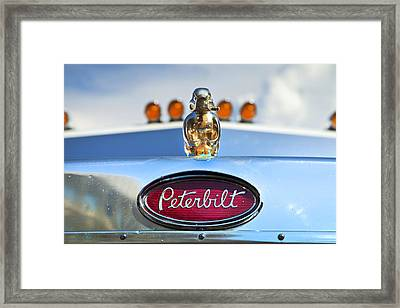 Peterbilt 2 Framed Print by Theresa Tahara