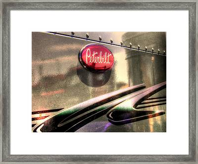 Peterbilt Framed Print