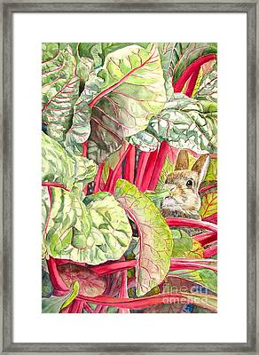 Peter's Diet Framed Print by Patricia Pushaw