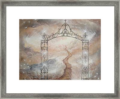 Peter's Gate Framed Print