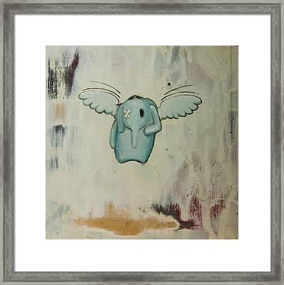 Pete's Angel Framed Print by Konrad Geel