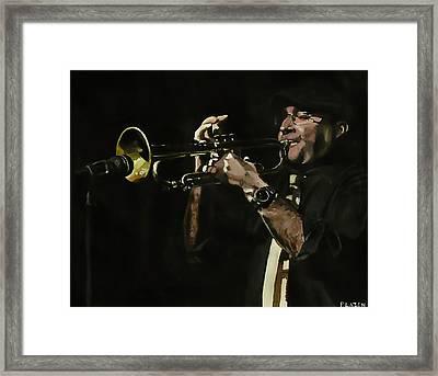 Pete's Solo Framed Print by Patricio Lazen