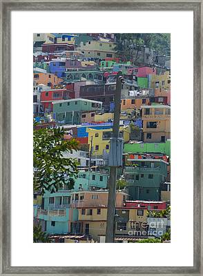 Petionville Mountain Framed Print by Jim Wright