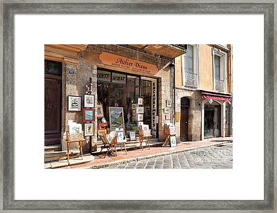 Petit Arts In France Framed Print by Juergen Klust