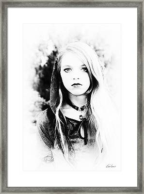 Petite Seer Framed Print