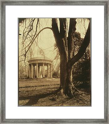 Petit Trianon The Temple Of Love, Petit Trianon Eugène Framed Print by Litz Collection
