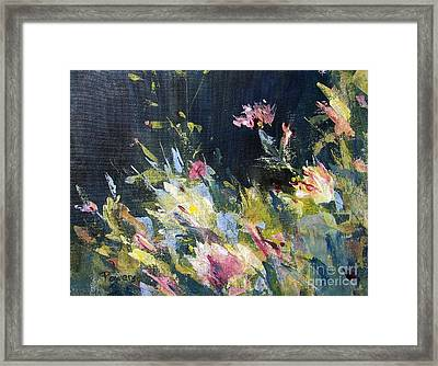 Petite Bouquet Framed Print by Mary Lynne Powers