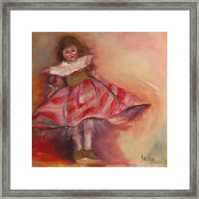 Petite Cisette Framed Print by Susan Hanlon