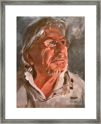 Petko Pemaro Framed Print by Sharon Burger