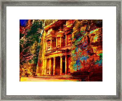 Petra Framed Print by Catf