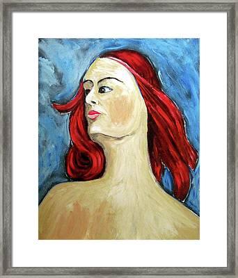 Petrina Framed Print