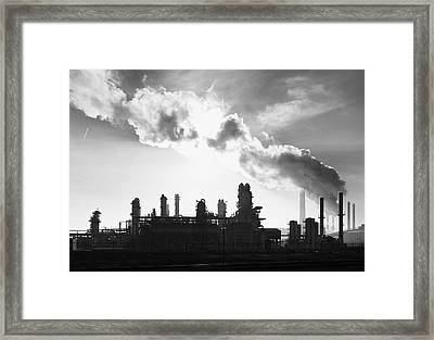 Petrochemical Plant Framed Print by Hans Engbers