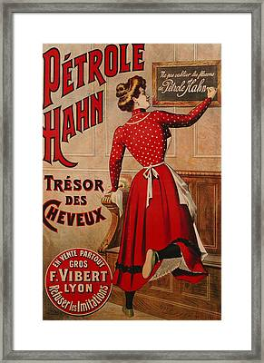 Petrole Hahn Framed Print