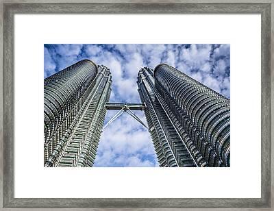 Petronas Tower Framed Print by Jijo George
