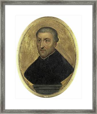 Petrus Canisius, 1521-97, Cleric And Writer In Nijmegen Framed Print by Litz Collection