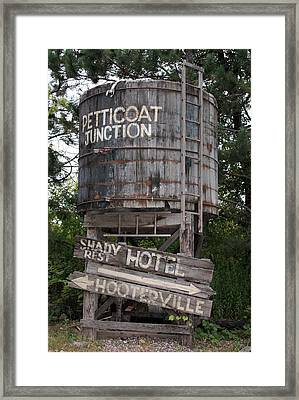 Petticoat Junction Framed Print by Kristin Elmquist