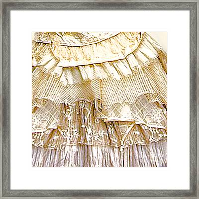Petticoat Framed Print