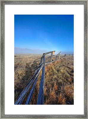 Framed Print featuring the photograph Pettit Fog by David Andersen