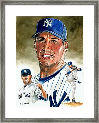 Pettitte Framed Print by Tom Hedderich