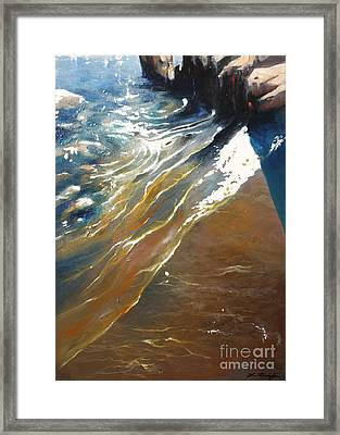 Peu Rivage Framed Print by Lin Petershagen