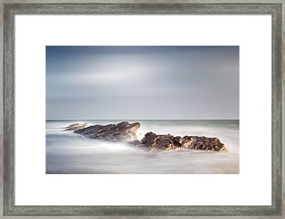 Peverill Point Swanage Framed Print by Chris Frost