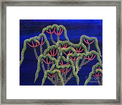 Peyote Dreams Framed Print