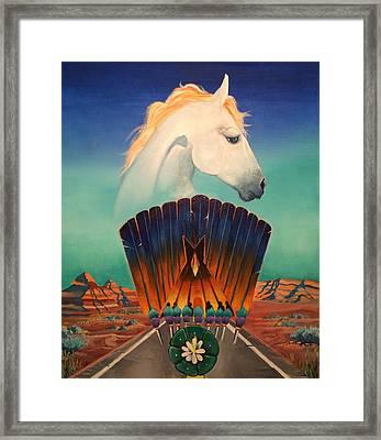 Peyote Road Framed Print