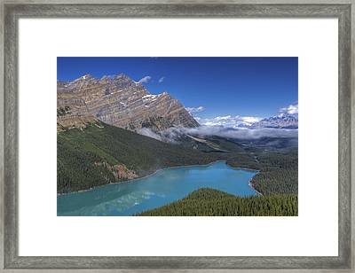 Peyto Lake Framed Print