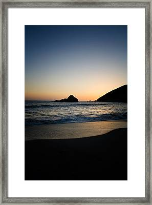 Pfeiffer Beach Framed Print by Kunal Ghate