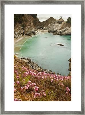 Pfieffer Beach Framed Print