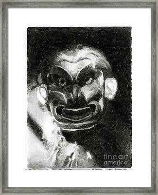 Pgwis Qaguhl Framed Print by Edward S Curtis
