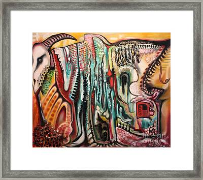Phantasmagoria Framed Print by Michael Kulick