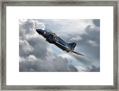 Phantom Angel Framed Print by Peter Chilelli