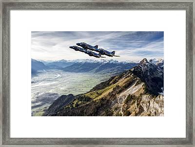 Phantom Angels Framed Print by Peter Chilelli