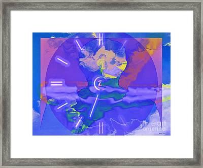 Phantom Crash Of Flight 334 Framed Print by Elizabeth McTaggart