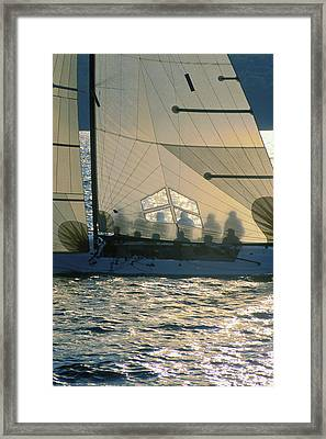 Phantom Crew - Lake Geneva Wisconsin Framed Print by Bruce Thompson