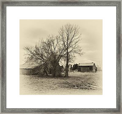 Phantom Farm Framed Print