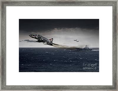 Phantom Launch Framed Print