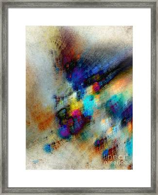 Phantom Lik Framed Print by Edward Fielding