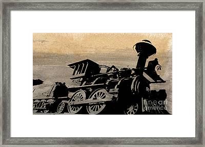 Phantom On Rails Framed Print by R Kyllo