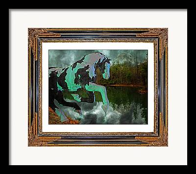 Stormy Weather Mixed Media Framed Prints