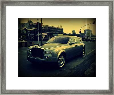 Rolls Royce Phantom Framed Print by Salman Ravish