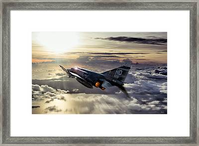 Phantom Sunrise Framed Print by Peter Chilelli