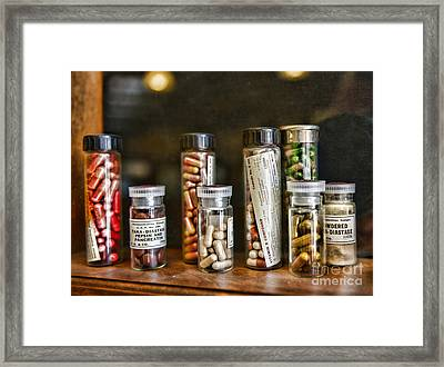 Pharmacist  For All That Ails You Framed Print by Paul Ward
